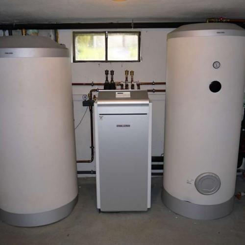 Domovní instalace tepelného čerpadla země-voda včetně ohřevu teplé vody - 1