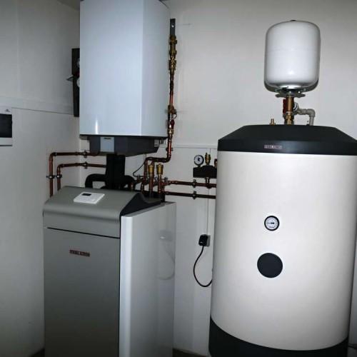 Domovní instalace tepelného čerpadla země-voda včetně ohřevu teplé vody - 2