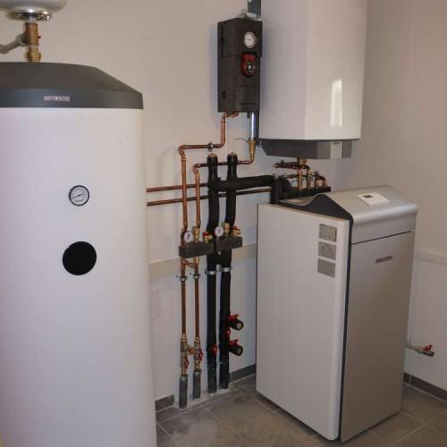 Domovní instalace tepelného čerpadla země-voda včetně ohřevu teplé vody - 3