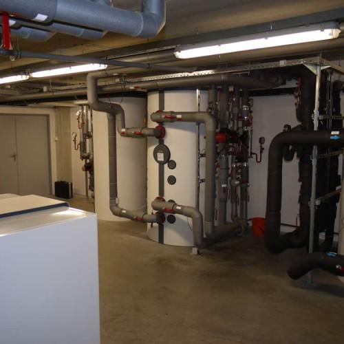 Domovní instalace tepelného čerpadla země-voda včetně ohřevu teplé vody - 5