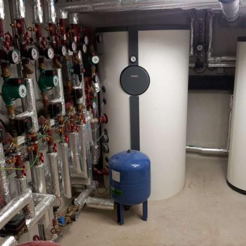 Průmyslové instalace tepelné čerpadlo vzduch-voda, včetně rekuperace-2