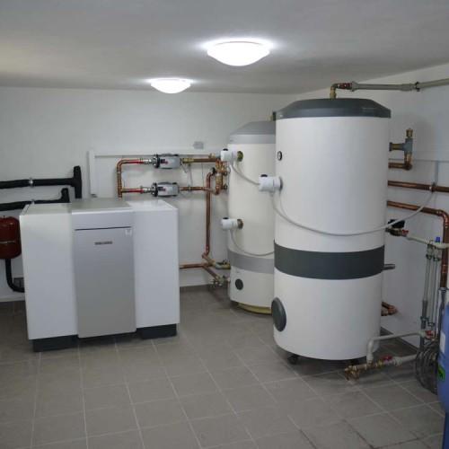 Domovní instalace tepelného čerpadla země-voda včetně ohřevu teplé vody - 6