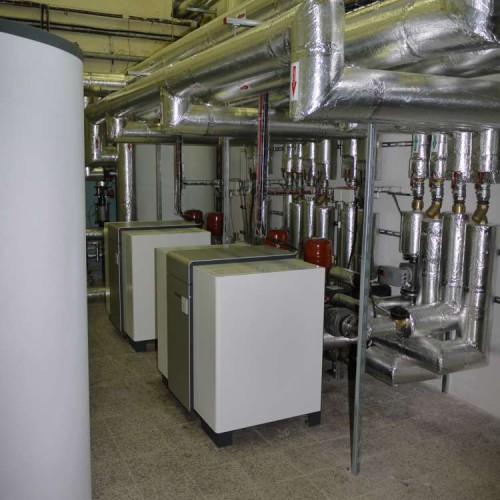 Tepelné čerpadlo voda-voda - průmyslová instalace vytápění, chlazení, rekuperace odpadního tepla - 2