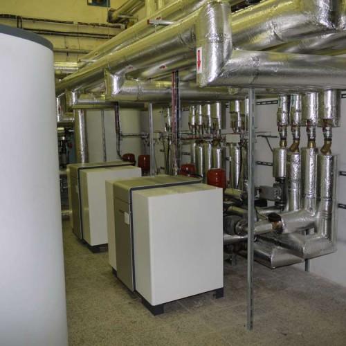 Tepelné čerpadlo voda-voda - průmyslová instalace vytápění, chlazení, rekuperace odpadního tepla - 3